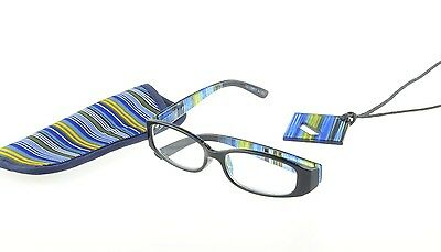 foster grant reading glasses Rainbow  +2.50 With Free Matching Case