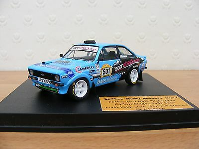 Very Rare Code3 Escort Mk2 Frank Kelly Carlow Stages Rally 1/43 Scale