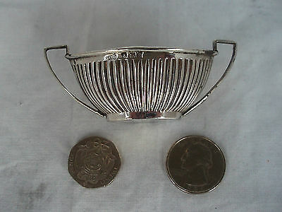 Salt Bowl Edwardian Sterling Silver Birmingham 1906