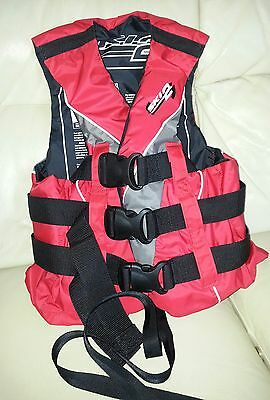 CREWSAVER SKI 2  BUOYANCY AID RED 50N JUNIOR SIZE BRAND NEW See pic 3 for sizing