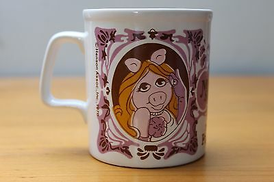 The Muppet Show: Vintage Miss Piggy Mug by Kiln Craft (Henson Assoc. Inc.1978)
