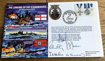 Multi Signed Raf First Day Cover Limited Edition Rare