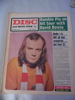 Disc and Music Echo 1969- Eric Clapton, Humble Pie/Bowie, Skinheads, Pentangle