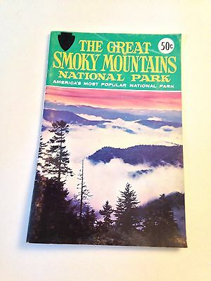 Vtg. 1966 Great Smokey Mountains National Park Motorist's tourist guide booklet
