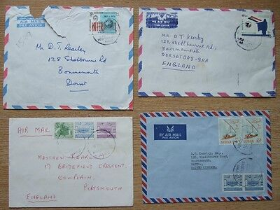 Air Mail Letters from Sudan (1970's)