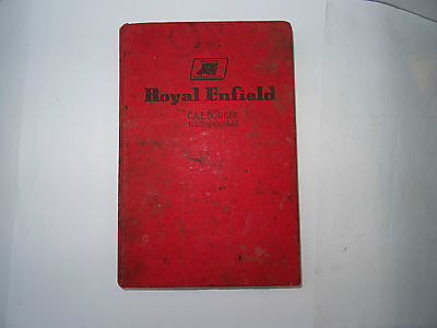 Pearson Royal Enfield Motor Cycles - A Practical Guide for Owners and Repairers