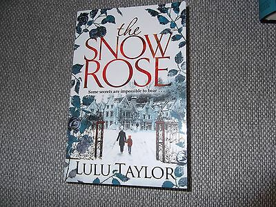 Lulu Taylor - The Snow Rose - Paperback Book  2016