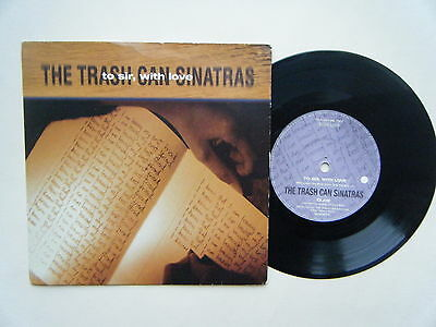 """TRASH CAN SINATRAS To Sir With Love CLAW A boy & a girl YOU ONLY LIVE TWICE 7"""""""