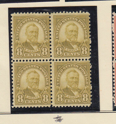 A very nice old United States Unused 1923 Eight Cents Block of Four