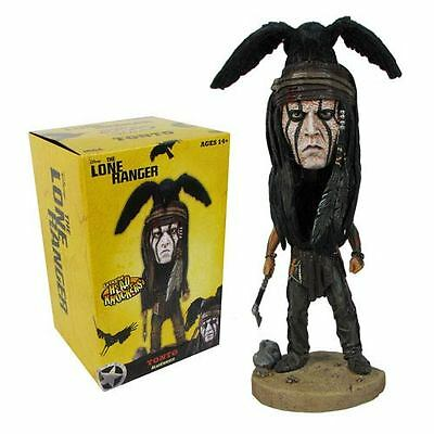 "THE LONE RANGER - Tonto 7"" Head Knocker / Bobble (NECA) #NEW"