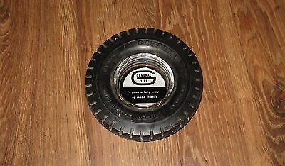 Vintage GENERAL Tire Ashtray Goes A Long Way To Make Friends