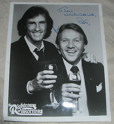Righteous Brothers 100% Real Signed Autograph 8x10 Press Photo to Julie