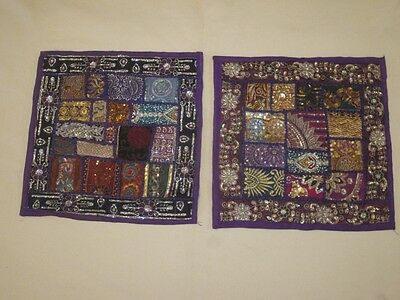 Indian Patchwork cushion covers