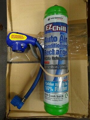 Air Conditioning Recharge Refill Auto Freeze AKA EZ Chill & Trigger & Gauge