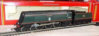 Hornby OO R310 WC/BB Class 4-6-2 Locomotive  34054 Lord Beaverbrook BR  Green