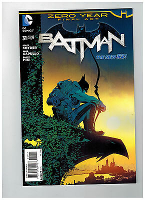 BATMAN #31  1st Printing - Zero Year - The New 52               / 2014 DC Comics