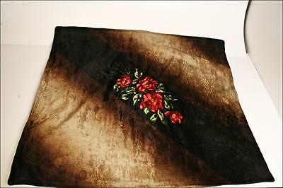 Antique CHASE Mohair/Horsehair Buggy Carriage/Lap/Sleigh Blanket vintage fox USA