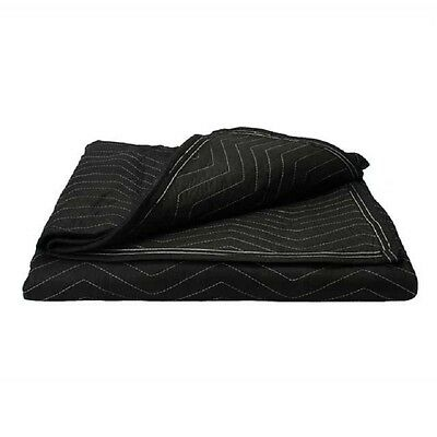 """2 Performance Moving Blanket 72x80"""" Heavy Duty Quality Quilted Fabric"""