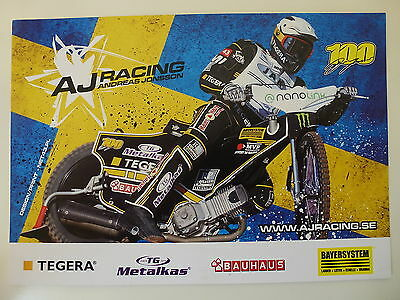 Andreas Jonsson Speedway Grand Prix Official Photocard
