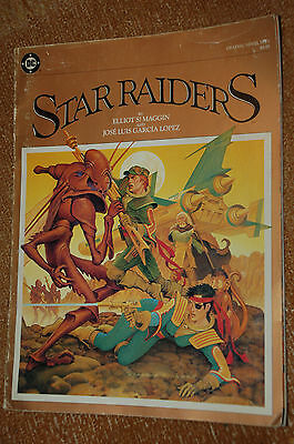 STAR RAIDERS - DC graphic novel No 1 1983, Maggin & Lopez
