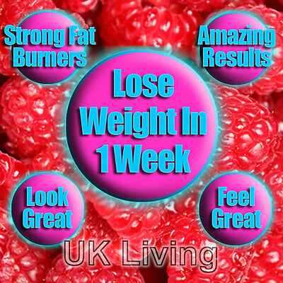 Quality Strong Diet Slimming Pills Tablets Lose Weight Fast Raspberry Ketones !!