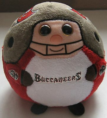 Tampa Bay Buccaneers TY 2012 Beanie Ballz Football Beanbag Plush