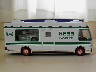 1998 Hess Recreation Van (Rv Camper) With Dune Buggy And Motorcycle - New In Box