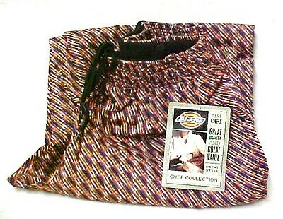 Dickies Chef Pants Stripe Twill Stripe Boxer Band CW050101 XS Discontinued New