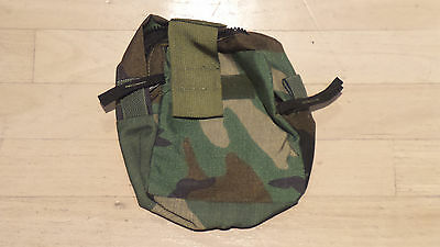 US Issue Molle Medic Pouch - Woodland Camo - New