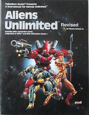 Aliens Unlimited Revised by Palladium Books, Lightly Read