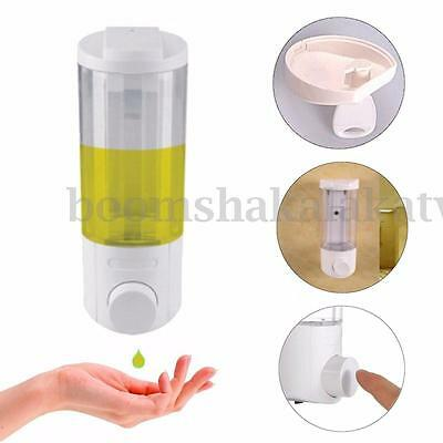 Shower Shampoo Body Lotion Wall Mount Soap Dispenser Bathroom Kitchen Sanitizer
