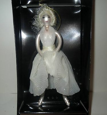 Ladies With Elegance MARILYN MONROE Glass Ornament - EARLY DISCONTINUED