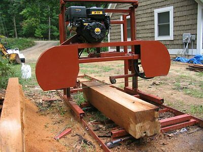 """Sawmill Portable Bandsawmill KIT 36"""" X 16' $1,895.00 with free Engine Upgrade"""
