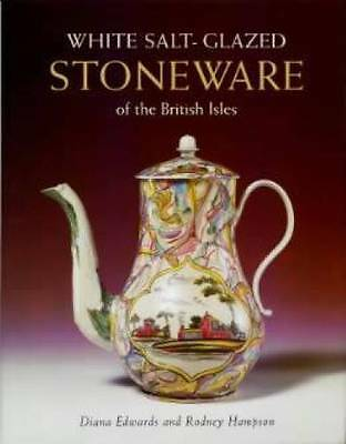 White Salt-Glazed Stoneware book Jug British Isles
