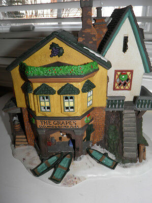 Department Dept 56 Dickens Village - The Grapes Inn - In Box