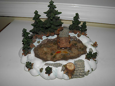 Department Dept 56 Village Accessory Item - Pine Point Pond - In Box