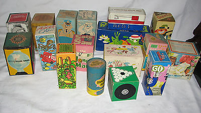 Lot 17 Vintage Childrens Kids Avon Banks Toys Soaky Clowns Space Character Nos