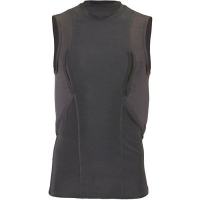 5.11 Tactical Sleeveless Holster Mens Base Layer Top - Black All Sizes