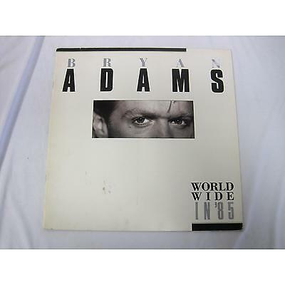 Concert Tour Books Bryan Adams World Wide and Into The Fire Lot of 2 Programs
