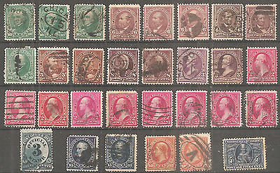 Usa Lot To Study Major Fine Condition 2 Scans Used