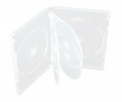 25 Clear 6 Disc DVD Cases