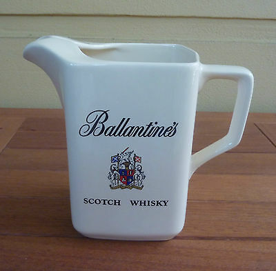 """Vintage Wade  """"BALLANTINE'S"""" Scotch Whisky Water Jug - Made in England"""