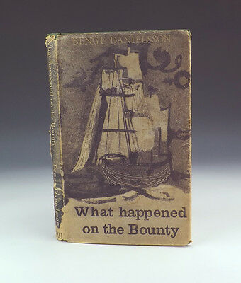 What Happened On The Bounty - Pitcairn Island Related Book - Bengt Danielsson