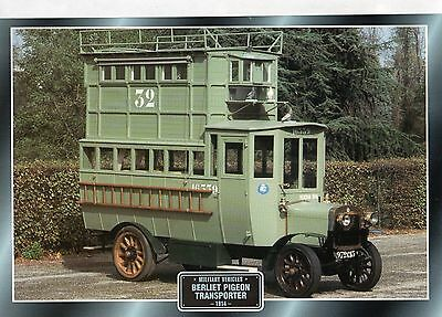 Berliet Pigeon Transporter                 Glossy   Picture (T67)