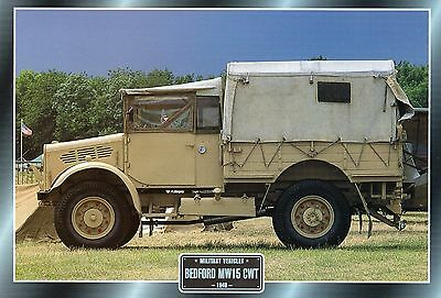 Bedford MW15 CWT                  Glossy   Picture (T79)