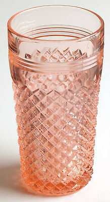 Anchor Hocking MISS AMERICA PINK 14 Oz Iced Tea Glass S6996488G2