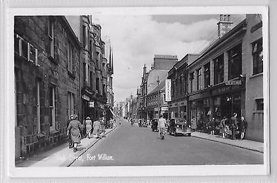 FORT WILLIAM INVERNESS-SHIRE SCOTLAND - THE HIGH STREET 1950's
