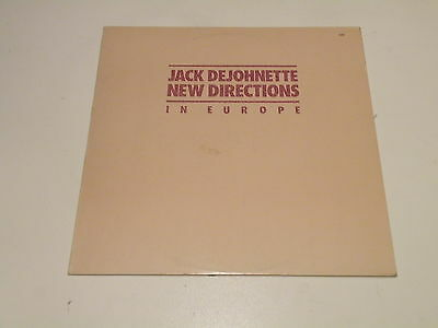Jack Dejohnette - New Directions In Europe - Lp 1980 Ecm Records Germany - Jazz