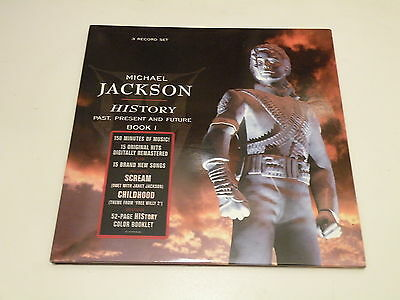 MICHAEL JACKSON - HIStory - Past, Present And Future - Book I - 3 LP + BOOK 1995
