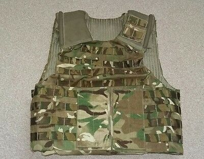 British army  MTP Osprey  body armour  carrier. Cadet ..Airsoft..multicam .paint